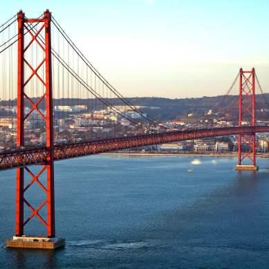 le pont 25 d'avril à lisbonne