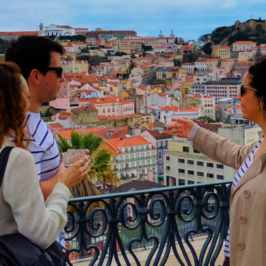 point de vue lors d'un tour privé avec treasures of lisboa food tours