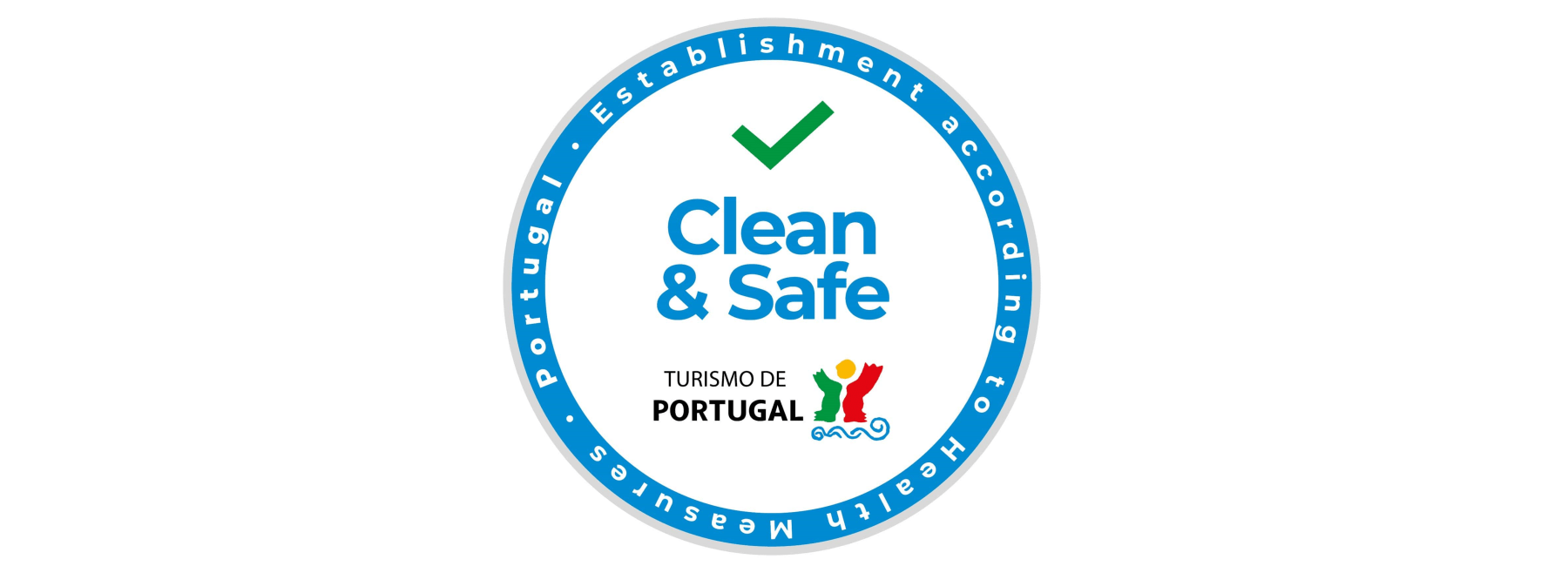 treasures of Lisboa Food Tours received the Safe and Clean distinction from Turism of Portugal